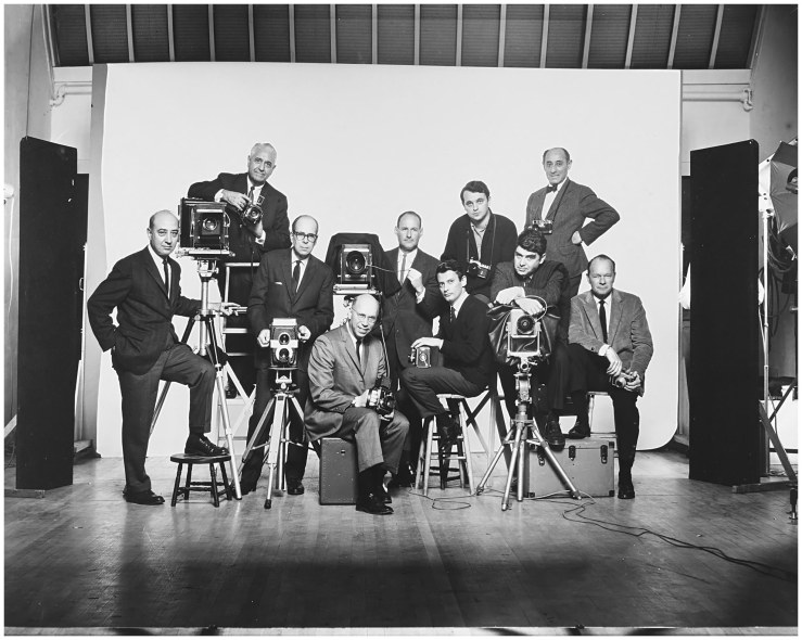 l-to-r-self-portrait-with-famous-photographers-january-1964